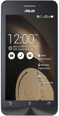 Asus Zenfone 4 A450CG (Black, with 8 GB)